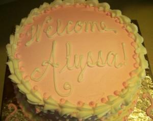 Alyssa Cake