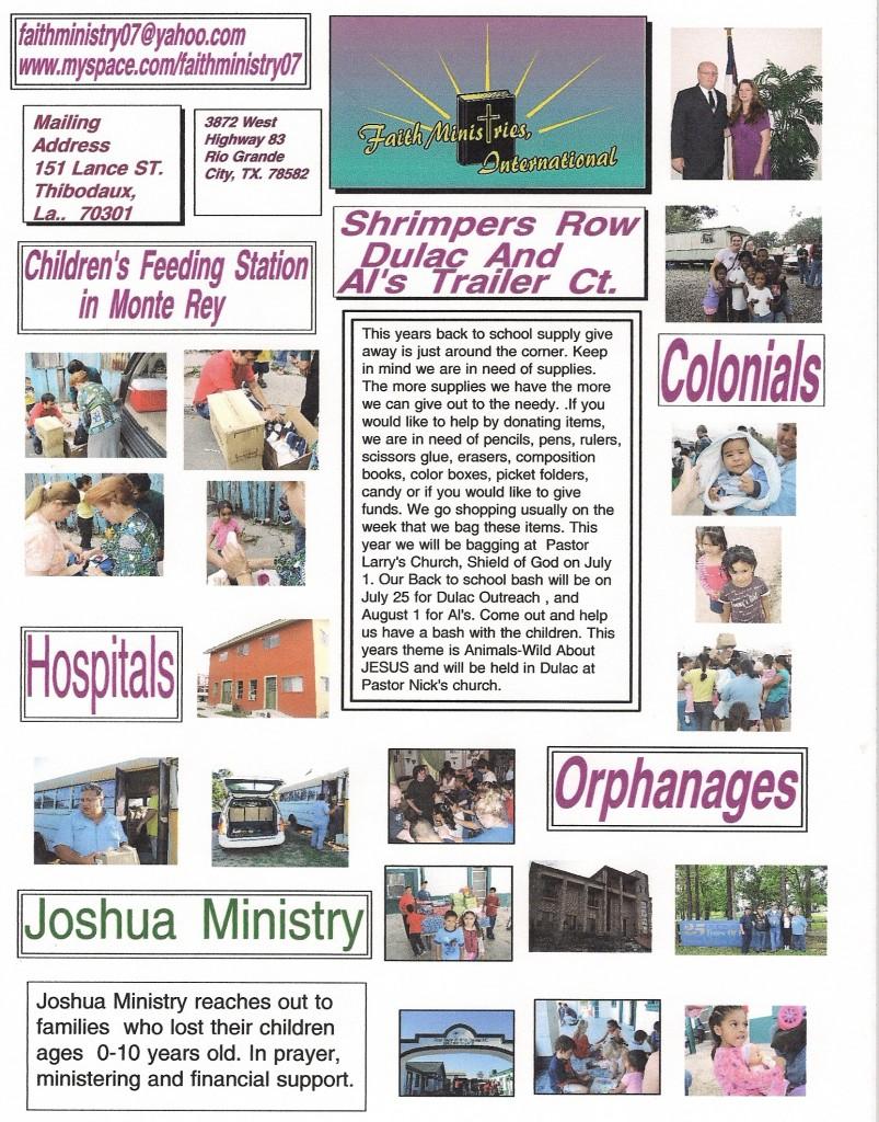 ministry-newsletter