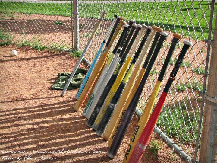 Baseball Bats by Stormie Rhoades