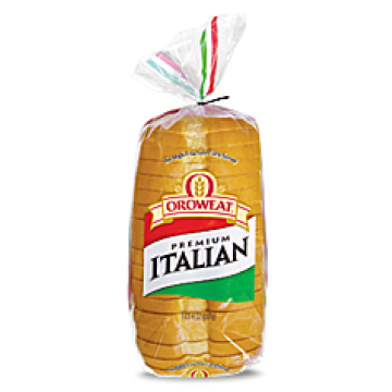 oroweat italian bread sliced