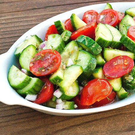 Cucumber-Tomato-Salad