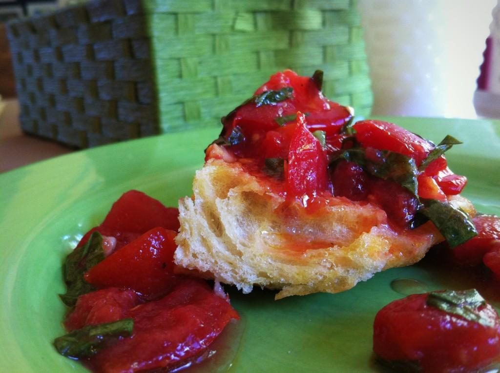 bruschetta a la pomodoro