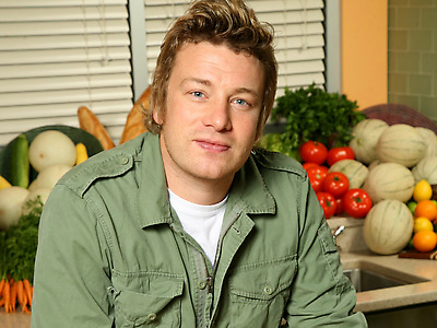 jamie oliver with veggies