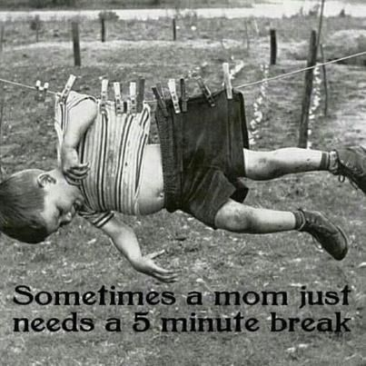 moms need a break