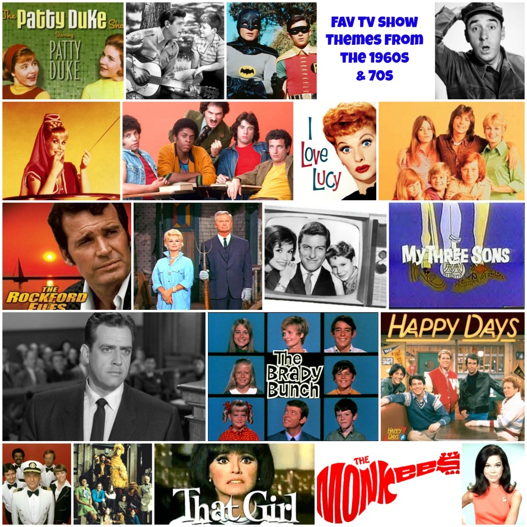 Favorite TV Show Theme from the 1960s and 1970s