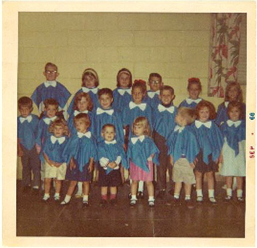 Junior Choir 1968 j