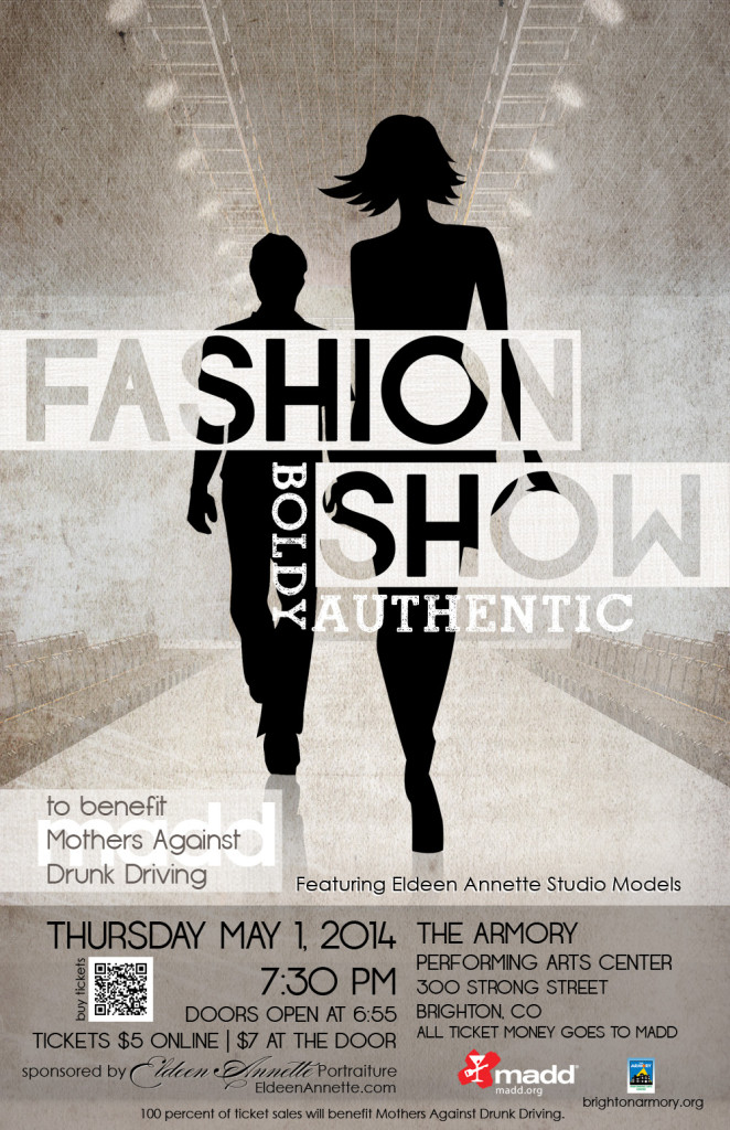 eldeen annette fashion show poster