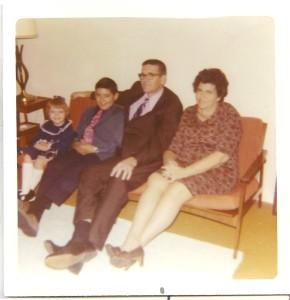 rhoades family circa 1970