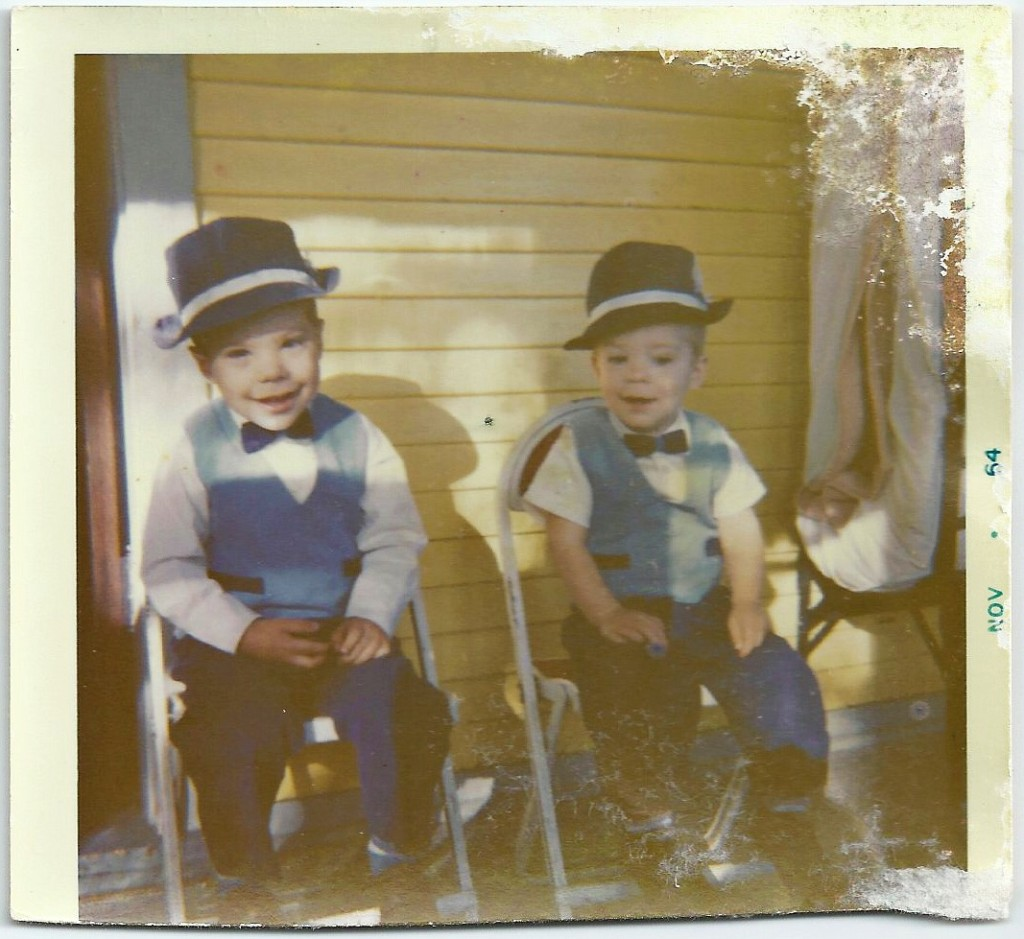 joey and timmy november 1964