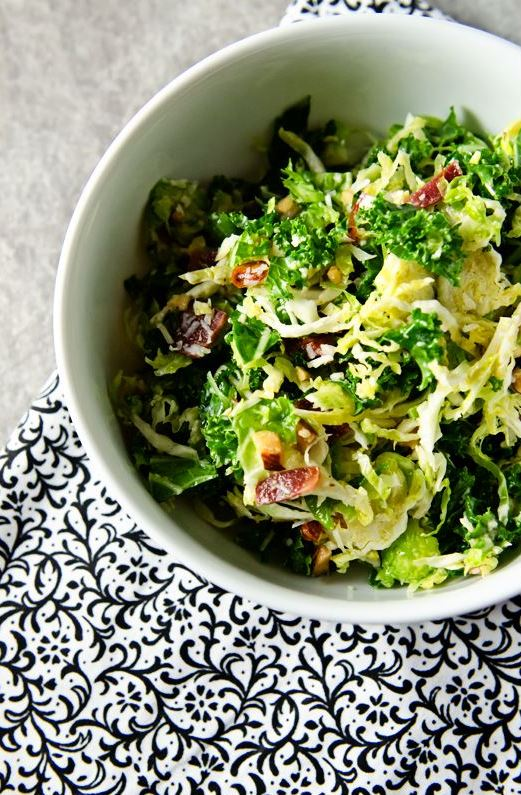 sugar and grace dot com kae and brussels sprouts salad