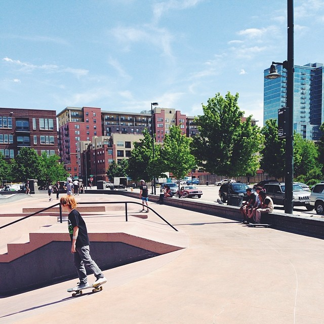 gav skateboarding in denver