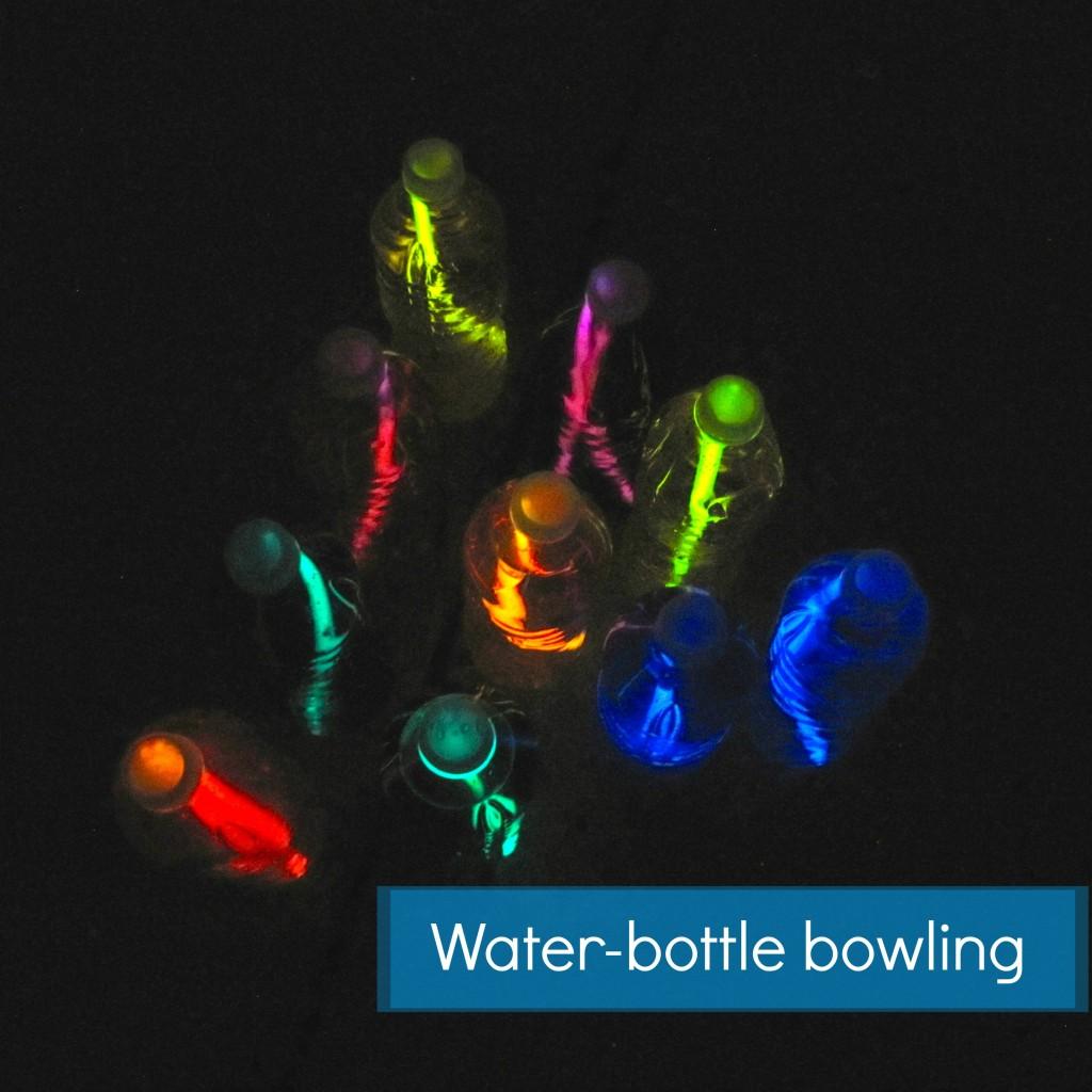 lovely water bottle bowling
