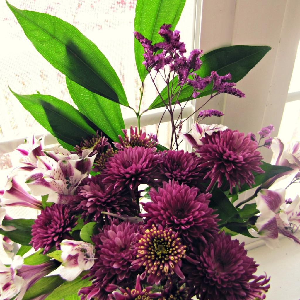 purple bouquet, day 17