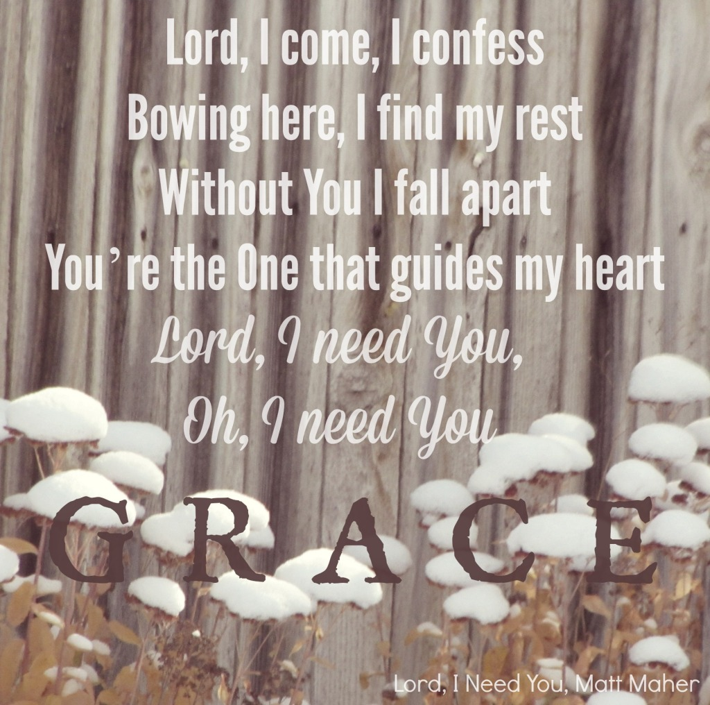 Lord, I need you lyrics