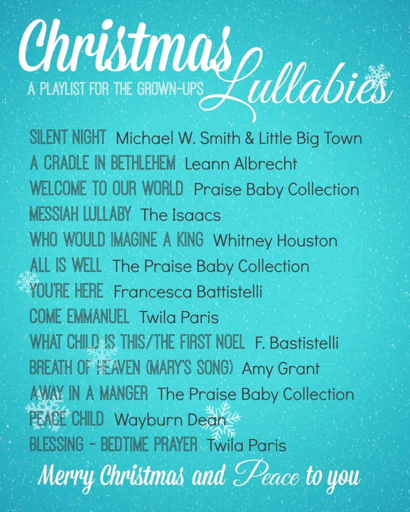 christmas lullaby playlist