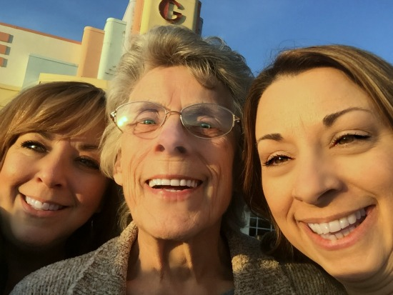 Me, my mom, and my little sister :: out on the town