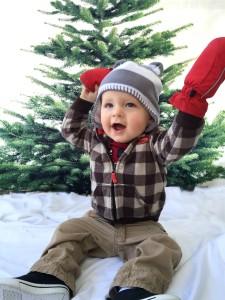 Oliver happy