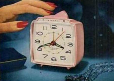 1960s clock ad