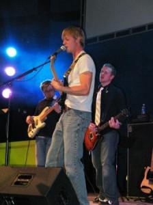 Dave leading worship