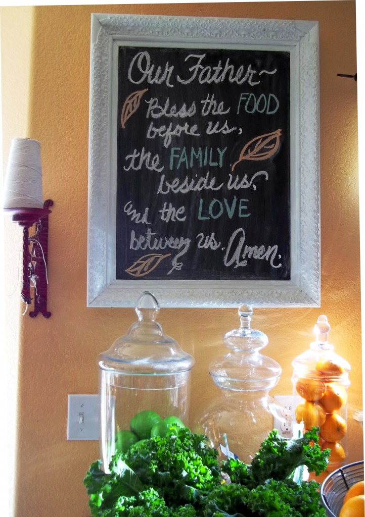 thanksgiving chalkboard