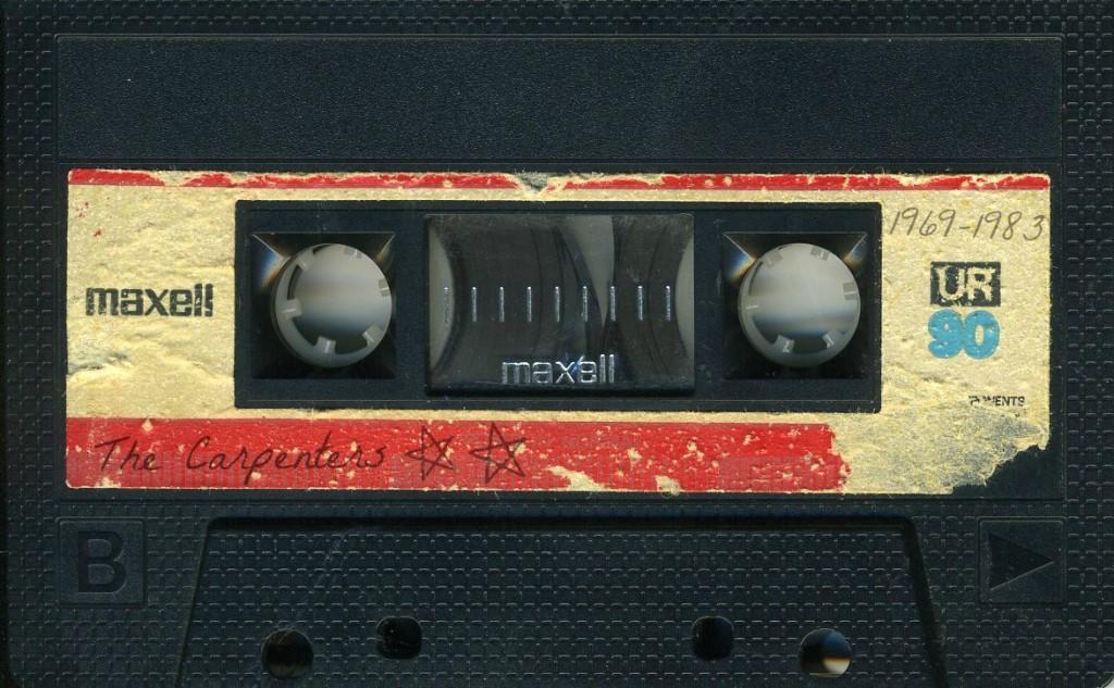 the carpenters cassette