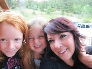 Gemma, Averi & Me in Estes Park