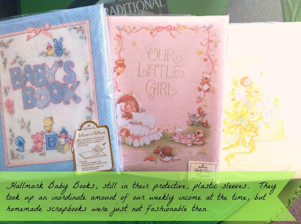 Tara, Stephanie and Tredessa's Baby Books from Hallmark