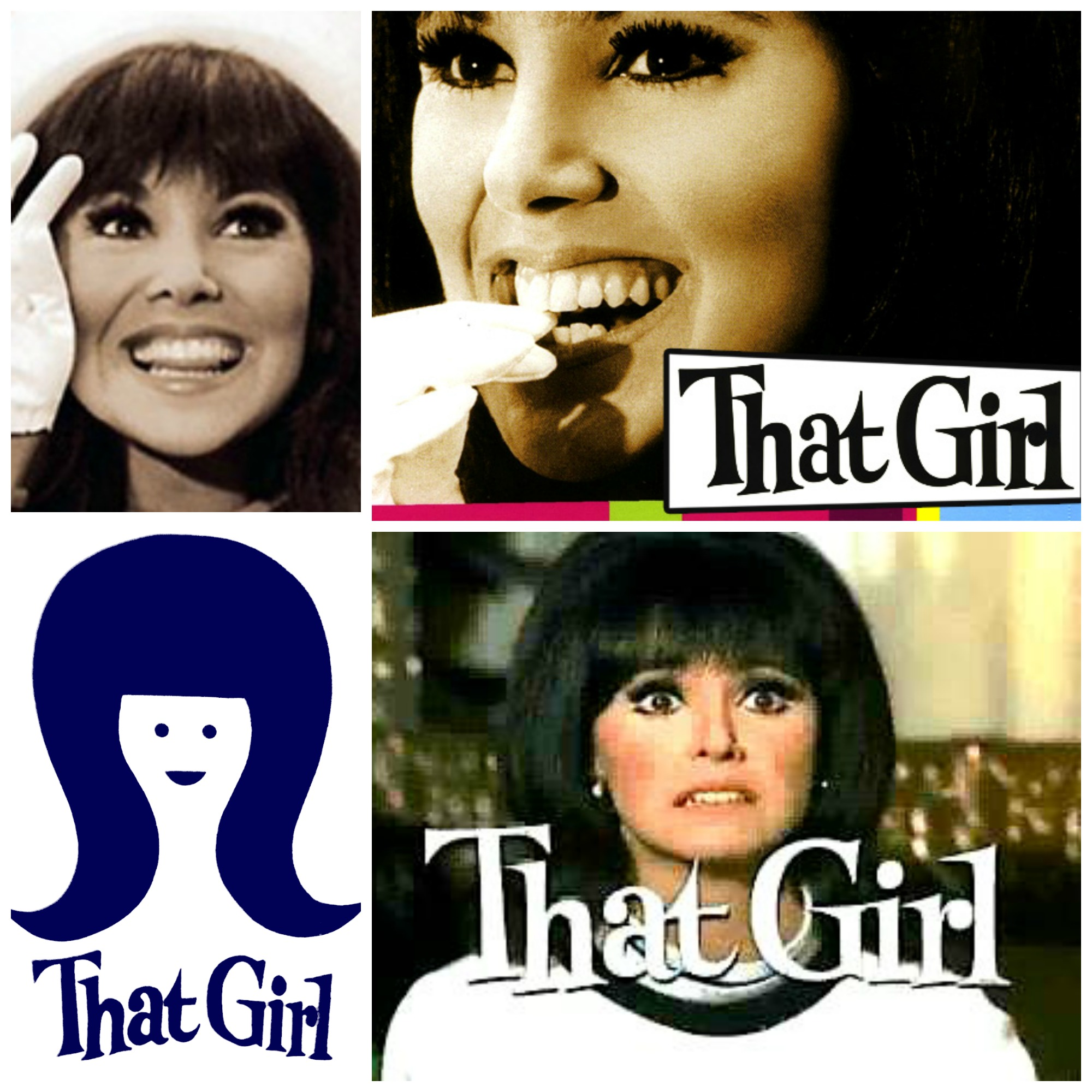 That Girl collage