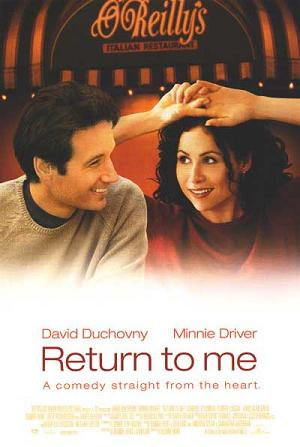 return to me movie poster