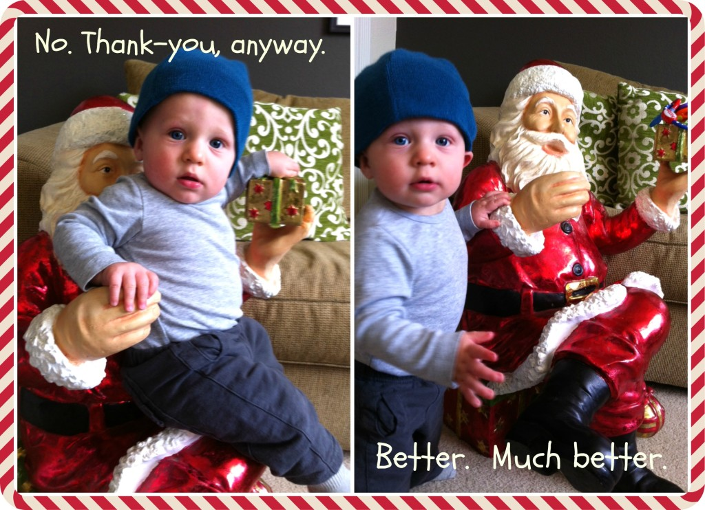 kai meeting the big santa dec 1 2013