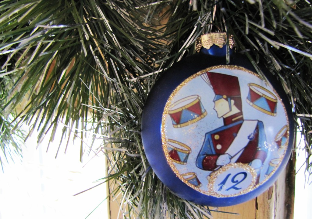 012 12th day of christmas ornament