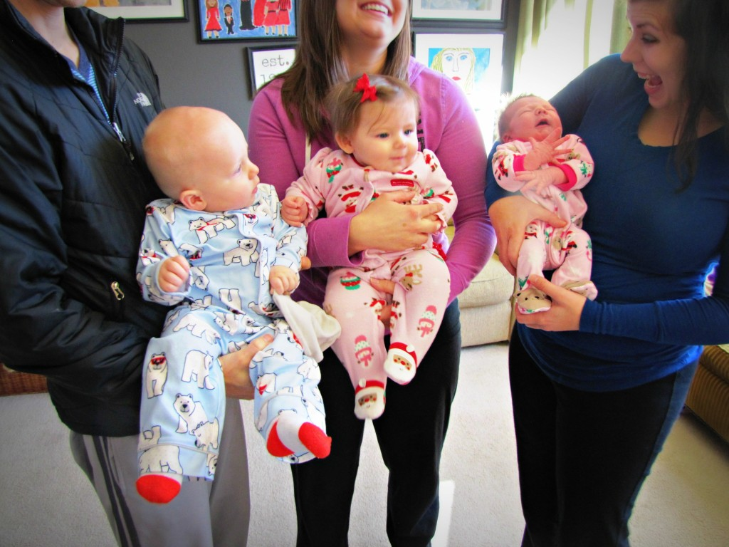 three new babies