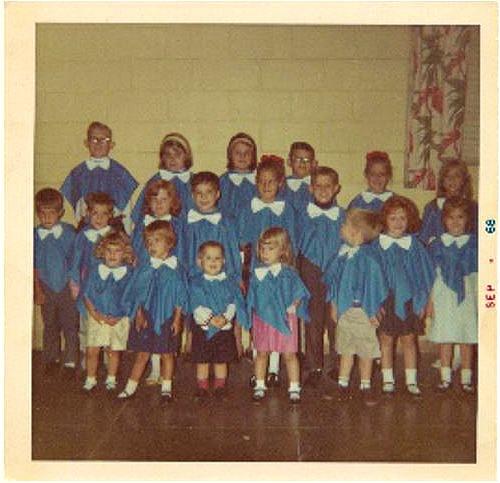 Junior Choir 1968 j