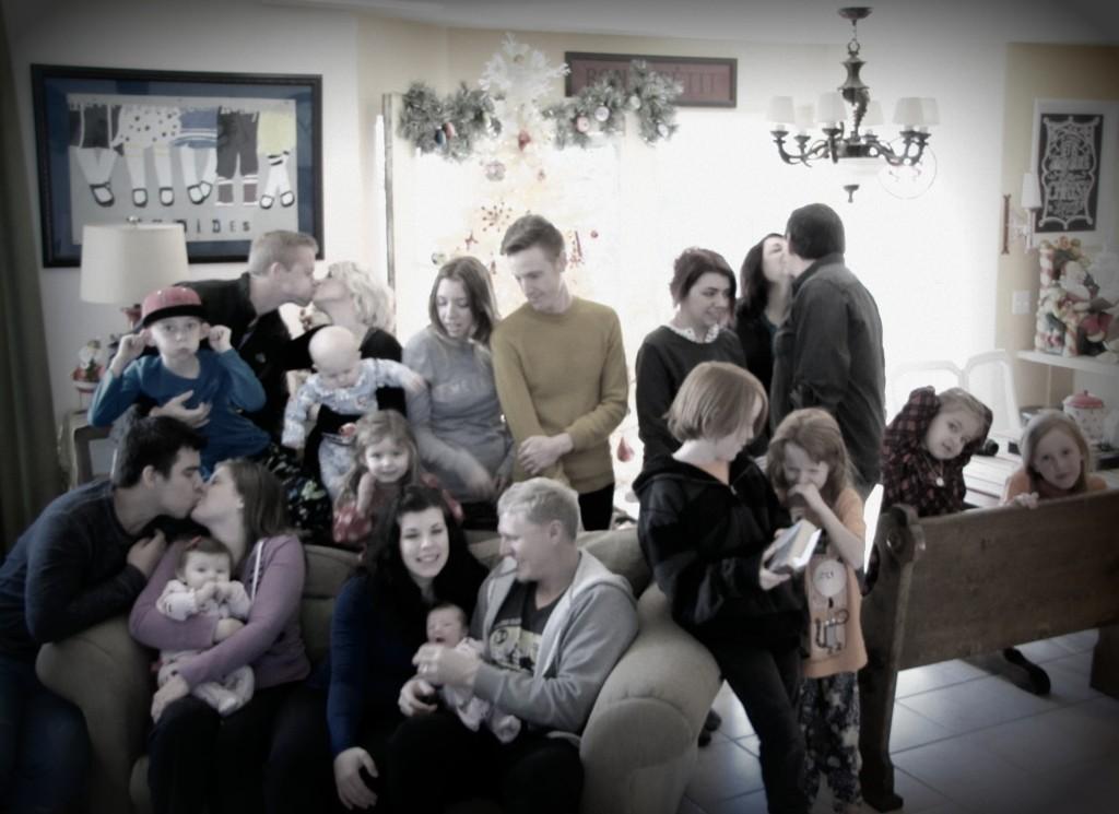 christmas rhoades family 2013
