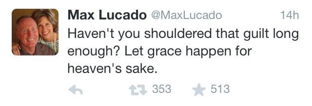 max lucado twitter