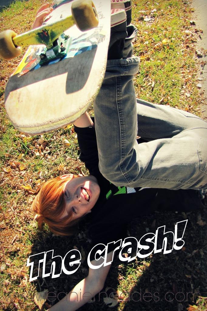 #thesearethemoments Gavin crashing