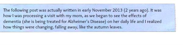 mom alzheimers