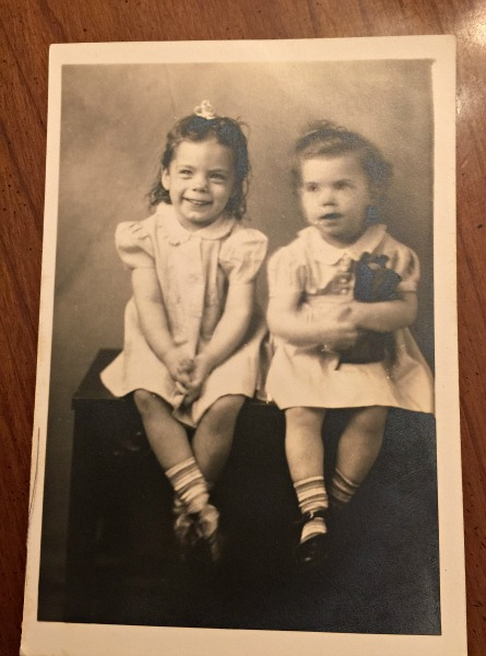 My mom on the right.