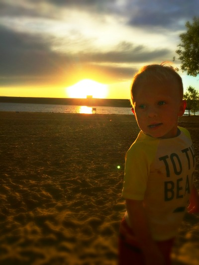Kai setting sun #beach #colorado